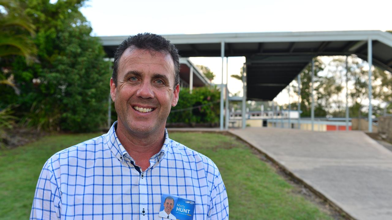 First-term Nicklin MP Marty Hunt will be hoping to extend his tenure in the seat for the LNP.