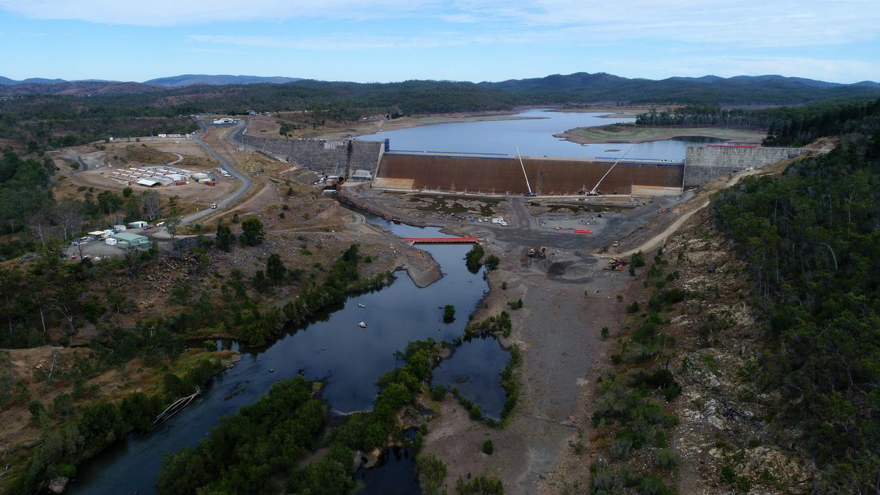 Paradise Dam. Photo: File.