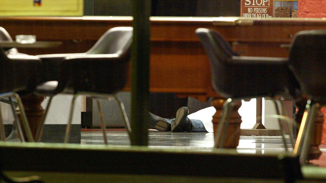 The image of the body of crime patriarch Lewis Moran lying on the floor inside the Brunswick Club Hotel - where he was gunned down on March 31, 2004 - summed up the brazen brutality of Melbourne's gangland war, which had already claimed the lives of multiple members of Melbourne's underworld.