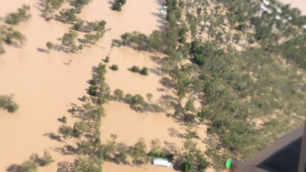 g the Rockhampton floods in April last year. Source: Twitter