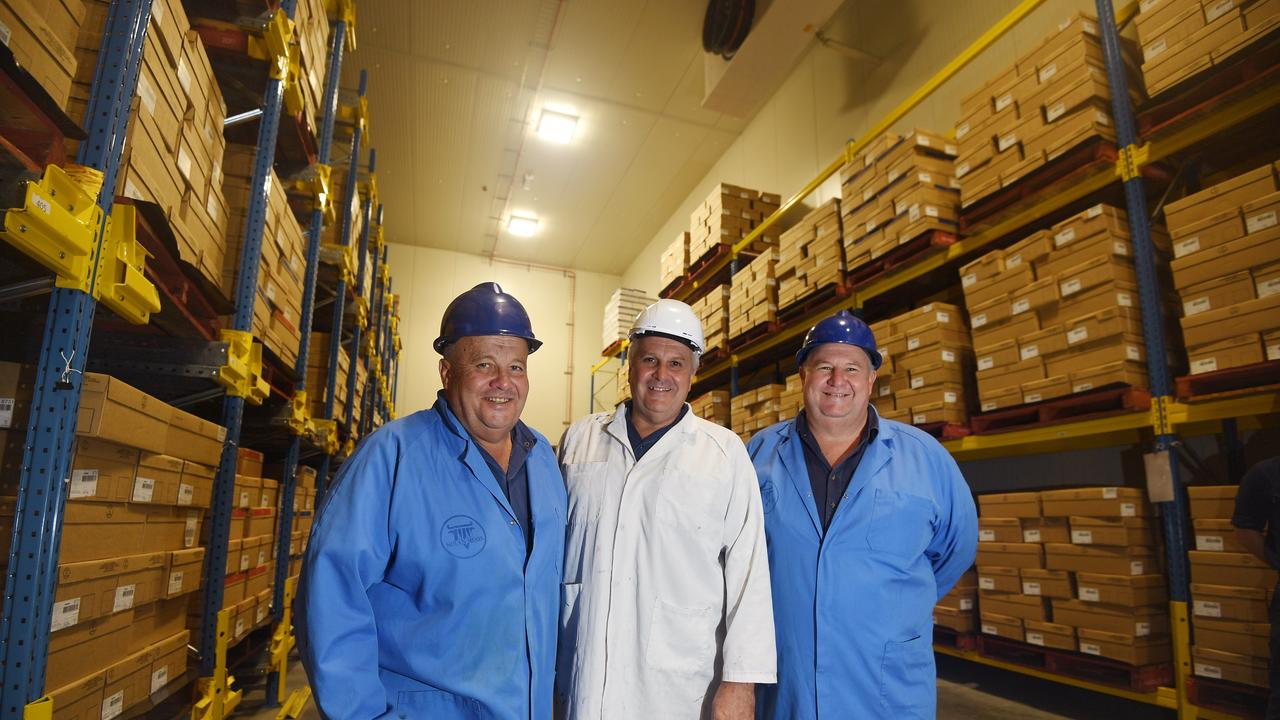 Michael, Terry and Tony Nolan Owners of Nolan Meats in Gympie are hiring now.