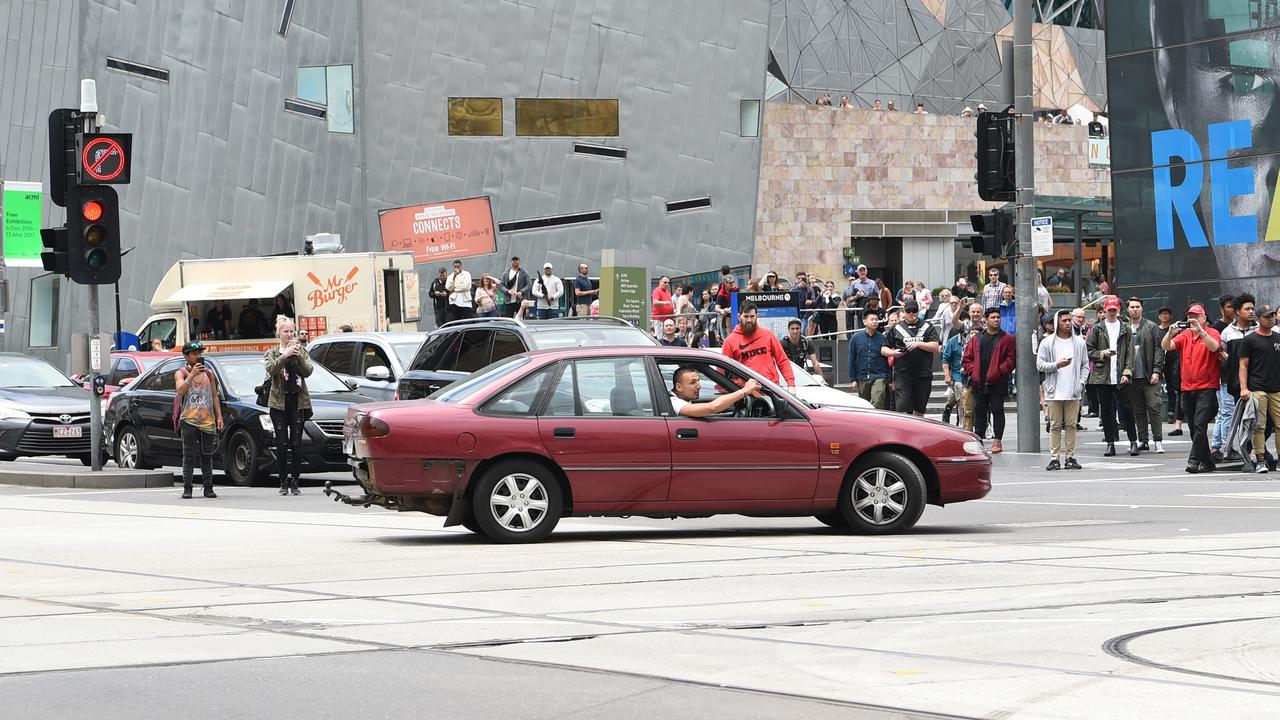 The chilling Melbourne CBD scene of crazed Bourke St killer Dimitrious Gargasoulas terrifying pedestrians in a maroon Holden Commodore on January 20, 2017 is sadly now seared into the brains of many Victorians. Gargasoulas was sentenced to a minimum of 46 years in prison for the murder of six people, killed when he mowed them down in a massacre on Bourke St.