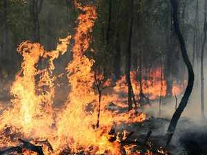 BREAKING: Dozen crews battling bushfire northwest of Gympie