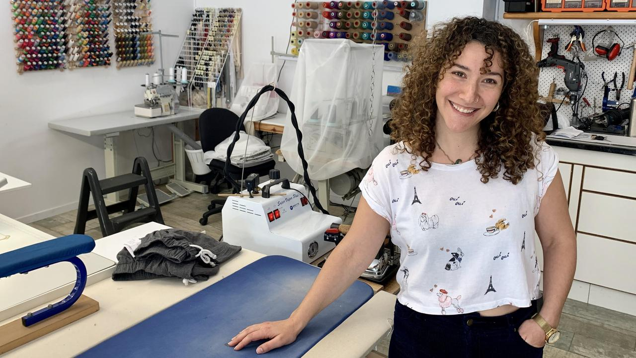Byron Alterations owner Ghosne Aoun's business is thriving, but there are reasons why she is reluctant to hire new staff.
