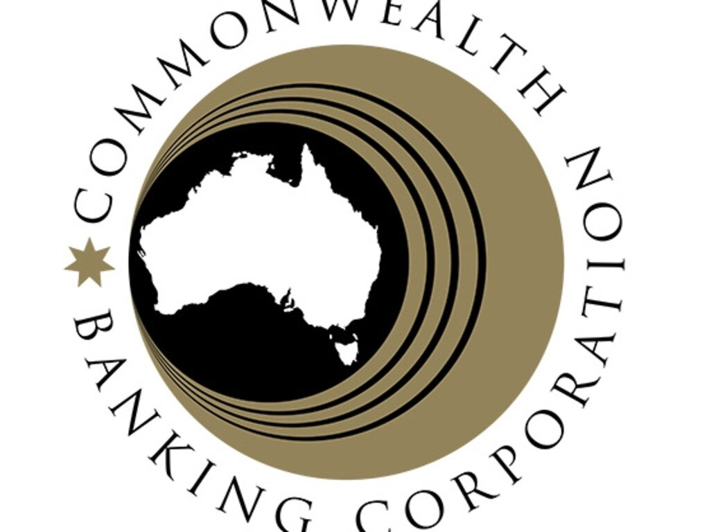Commonwealth Banking Corporation logo between 1960 and 1991. Picture: Supplied