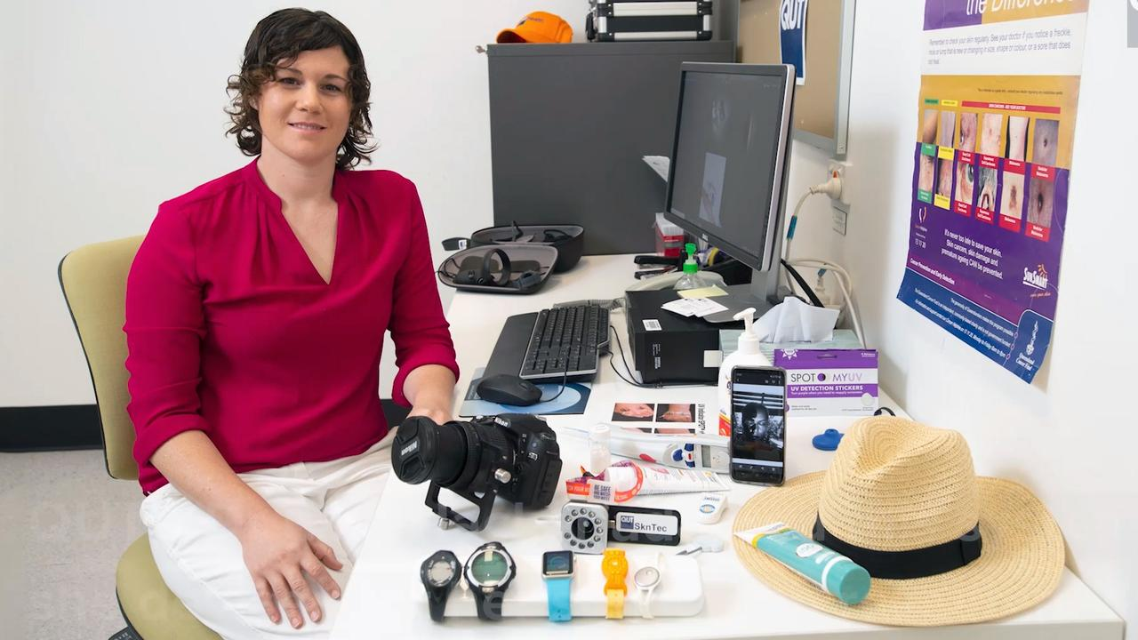 Sunshine Coast skin cancer researcher Dr Elke Hacker has won the Sue Wickenden Innovation in Science award at the 2020 Women in Technology awards. Picture: Supplied