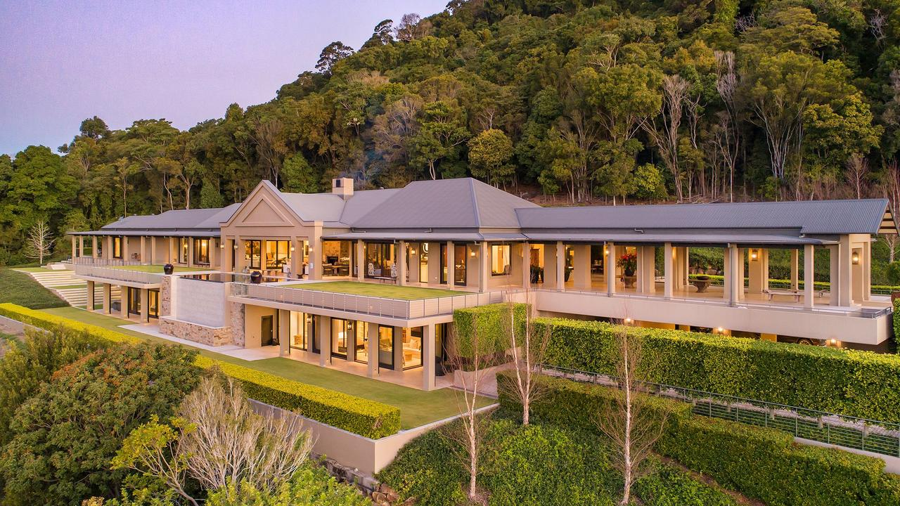 With a list of features bigger than the 160sq m walk-in wardrobe, the Cooroy Mountain Stonelea property is one of a kind. Picture: Jason Smith Photography