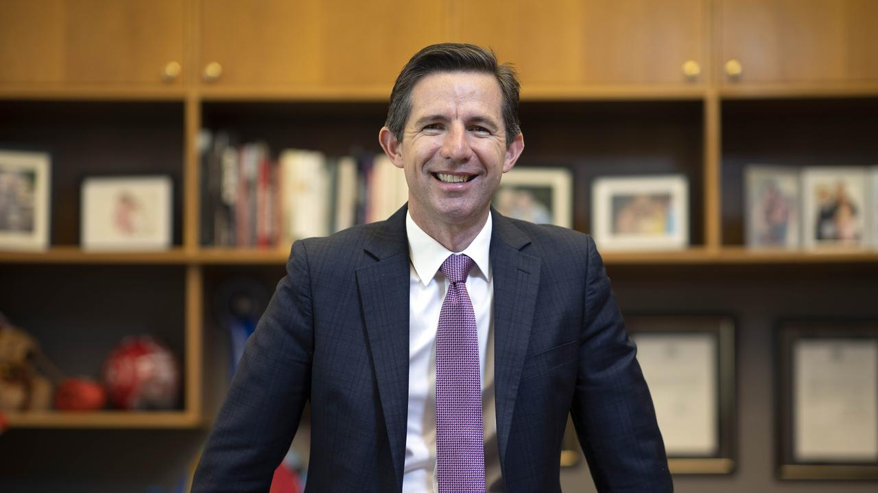 Trade Minister Simon Birmingham says China remains an important trading relationship for Australia. Picture: NCA NewsWire/Gary Ramage