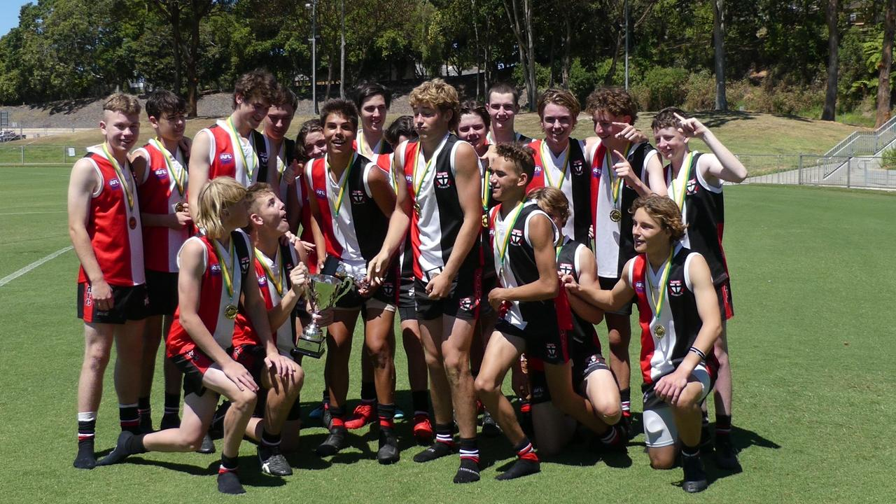 The Sawtell Toormina Saints took out the Under-17 AFLNC grand final for 2020. Photo: Brad Greenshields / Green Shoots Marketing