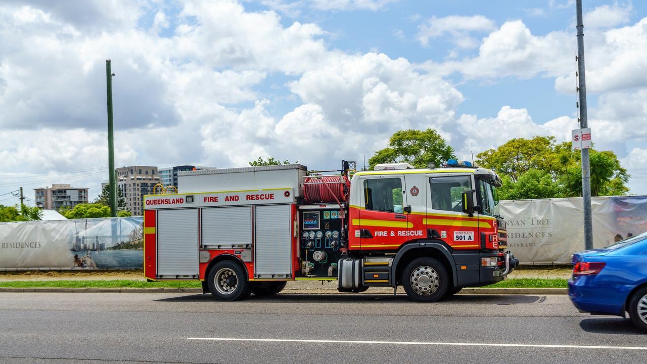 Queensland Fire Department vehicle
