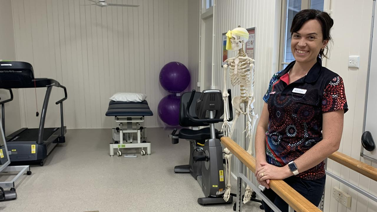 Gayndah based phisiotherapist Nicole Greiner. (Picture: Contributed)