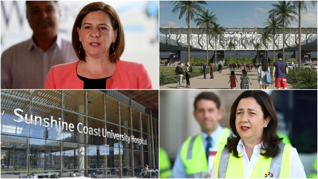Opposition Leader Deb Frecklington and Queensland Premier Annastacia Palaszczuk have made election promises which would cost millions of dollars to fulfil.