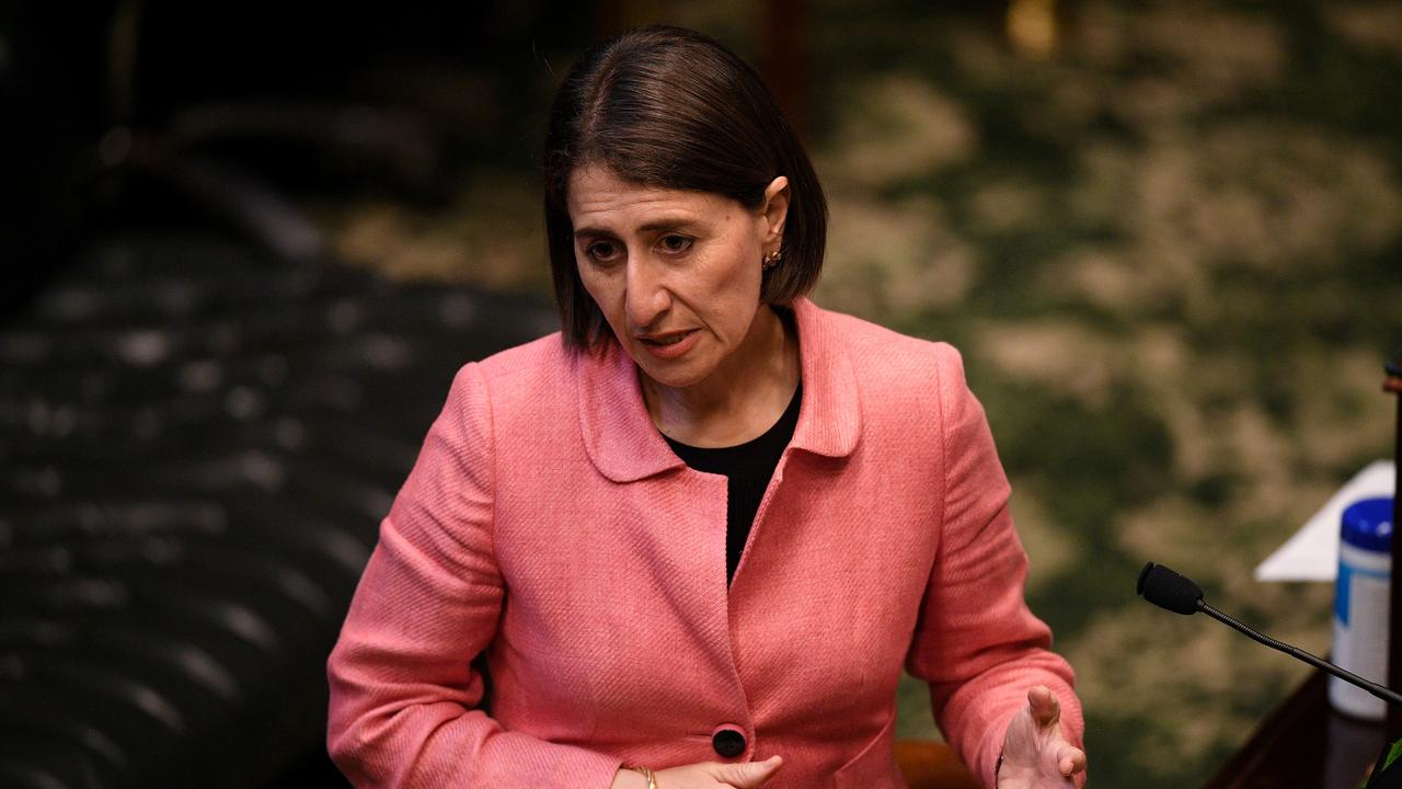 Ms Berejiklian faces a rowdy Question Time on Tuesday. Picture: AAP/Pool