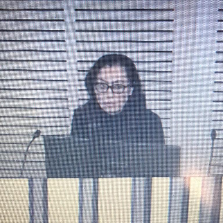 Maggie Wang on the stand today at ICAC.