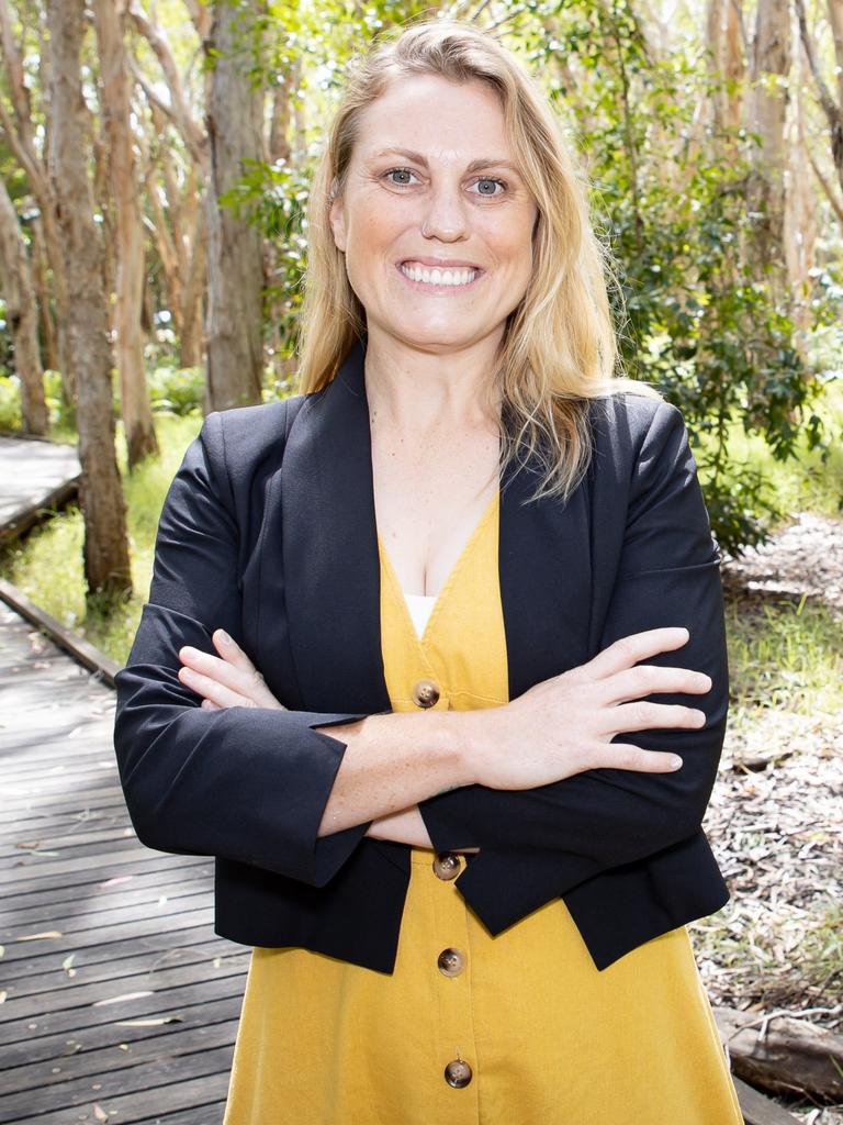 Greens Whitsunday candidate Emma Barrett.