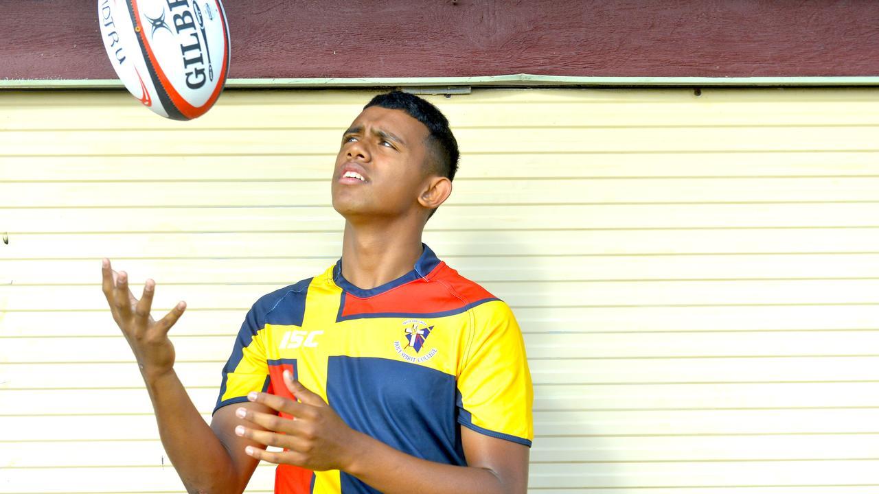 Holy Spirit College rugby player Samson Chow. Photo: Callum Dick