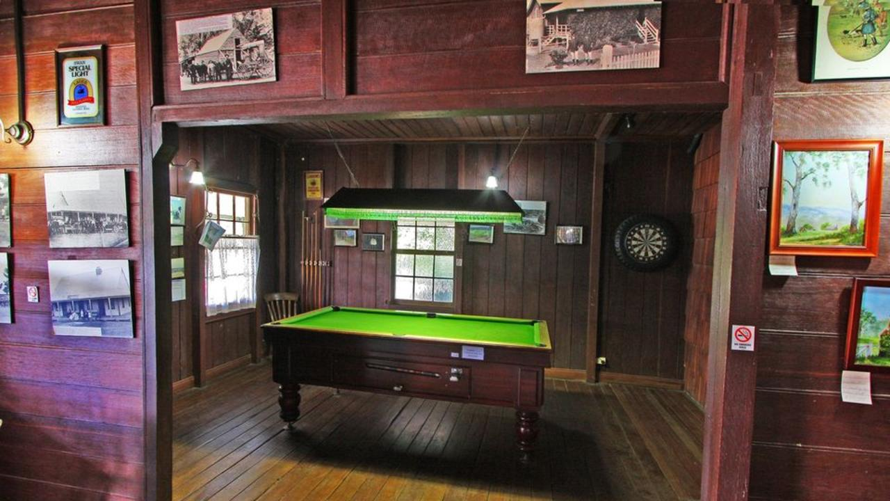 This Nymboida Coaching Station Inn pool table could be yours to own.