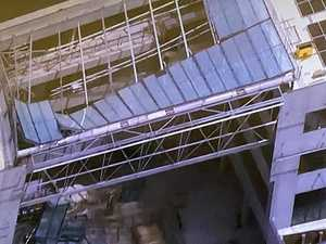 Witness describes horror uni ceiling collapse