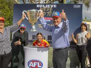 Premiership history hits Harrup Park ahead of Gabba GF