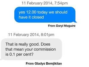 Big problem with Gladys' victim defence