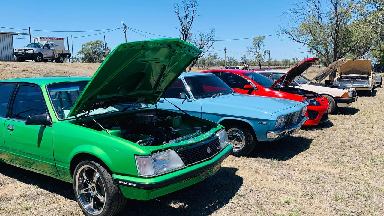 Ironbark Raceway – Show and Shine and Burn out competition, October 10 2020.