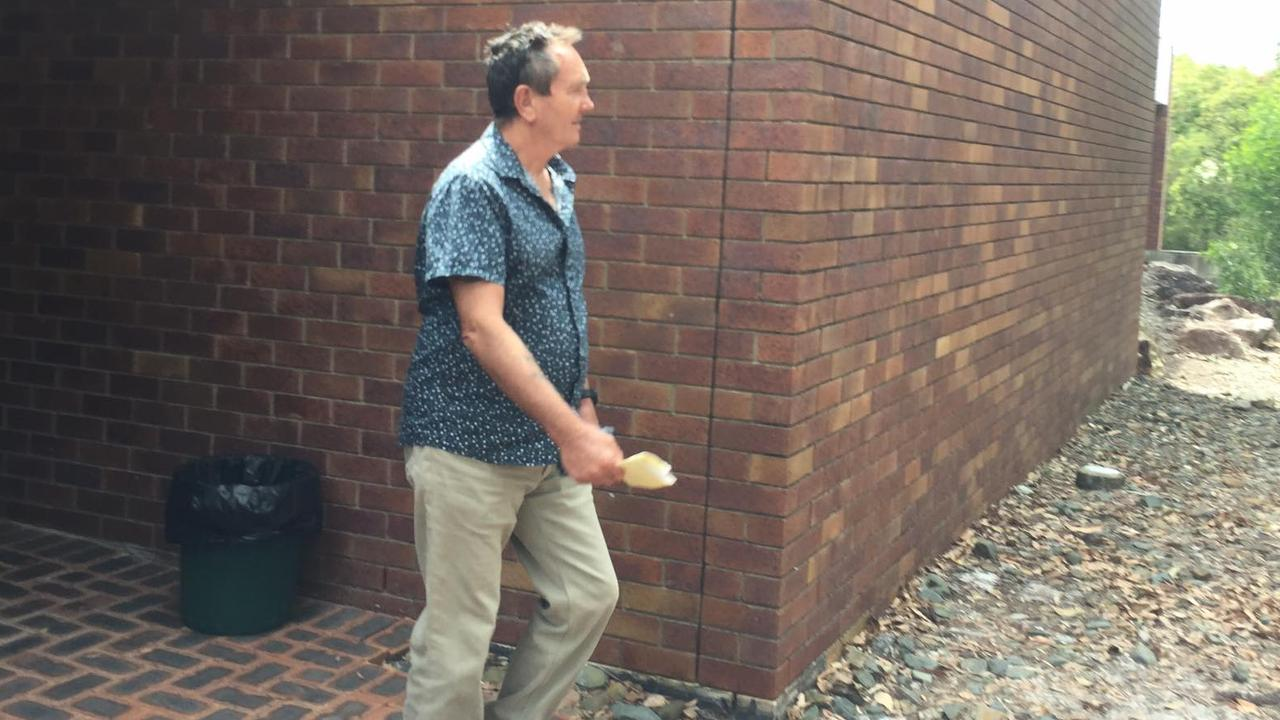 Linden William Bollinger leaves Noosa Magistrates Court on Tuesday after pleading guilty to drink driving. Picture: Laura Pettigrew