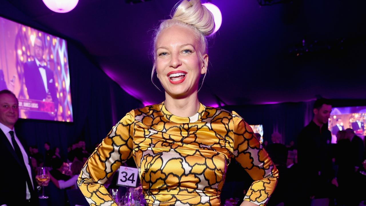 Sia has endured her share of mental health issues but thinks being honest about them is the only way forward. Picture: Getty Images