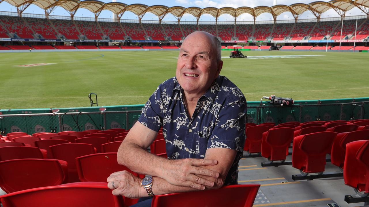 Gold Coast Suns chairman Tony Cochrane, a key figure in securing the AFL grand final for the Gabba. Picture Glenn Hampson