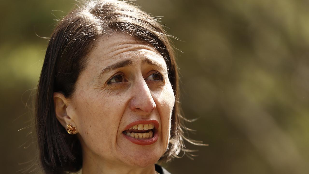 NSW Premier Gladys Berejiklian has denied that she has done something wrong over her former relationship with Daryl Maguire. Picture: Ryan Pierse/Getty Images
