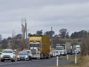 UPDATE: Warrego Hwy open after truck spill