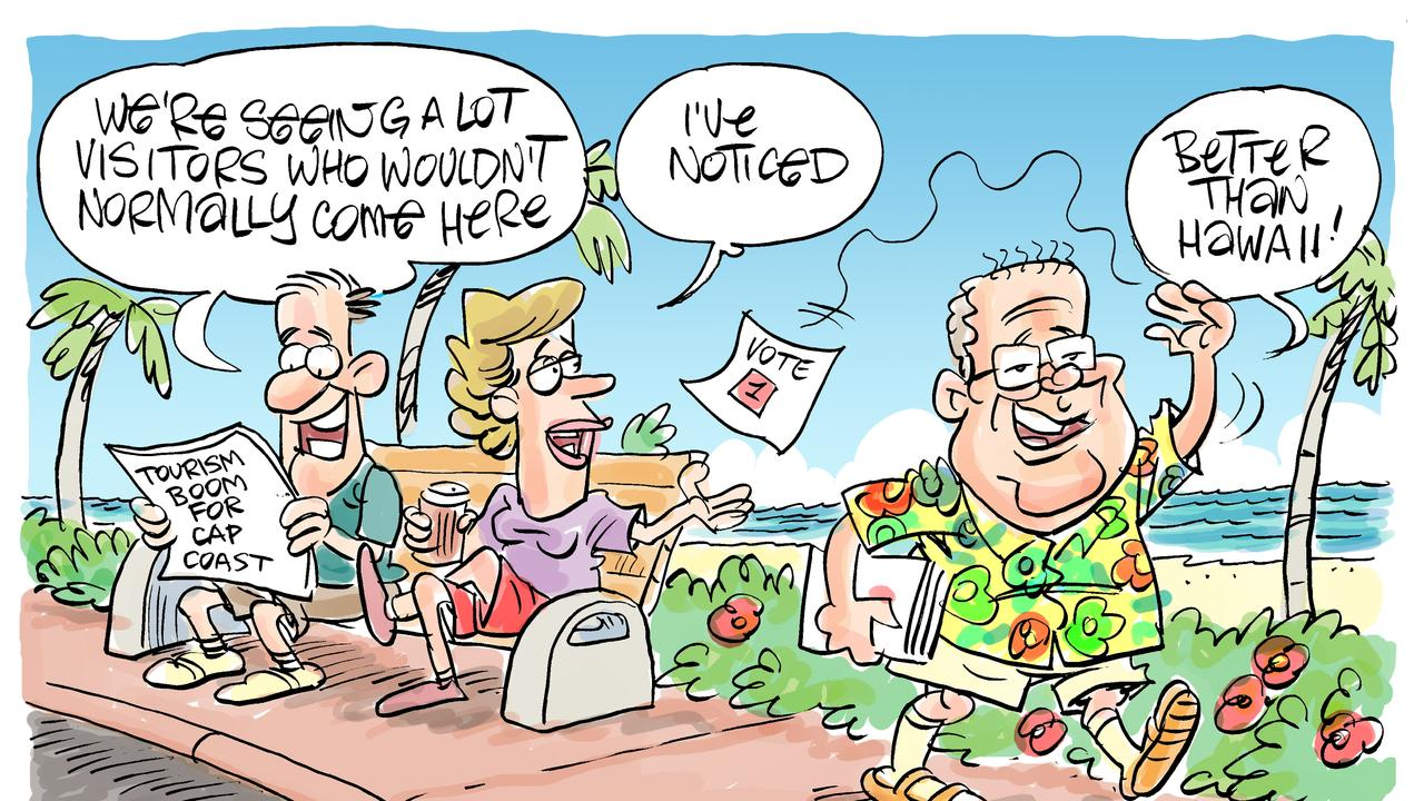 Harry's view on Cap Coast tourism boom and PM visit.