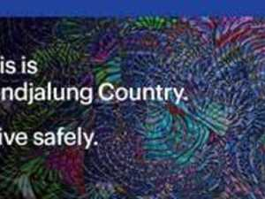 'This is Bundjalung Country': Artist's work stays on highway