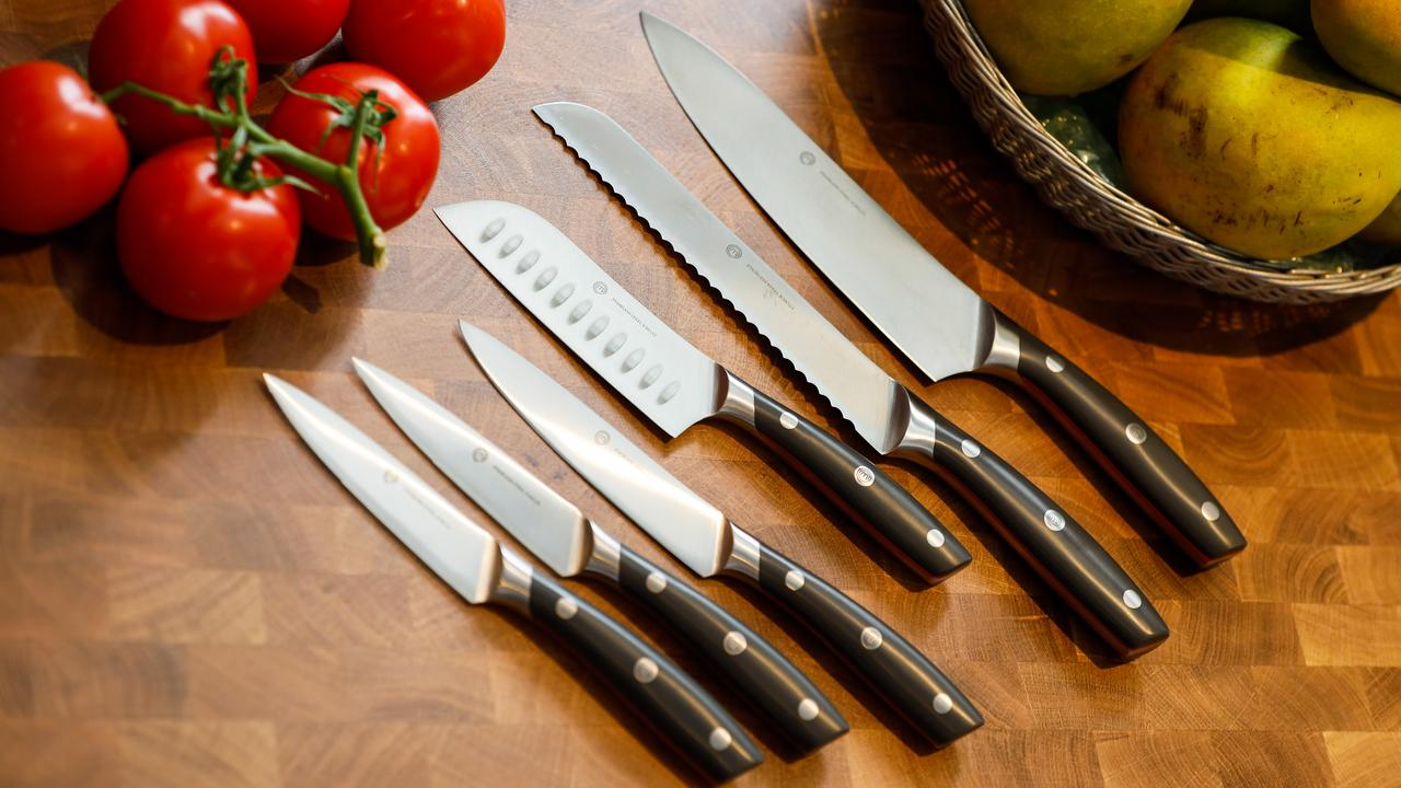 Customers can redeem their flybuys points and collect a MasterChef knife. Picture: Hanna Lassen/Getty Images.