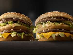 BURGER WARS: Macca's fires up at Aussie burger chain