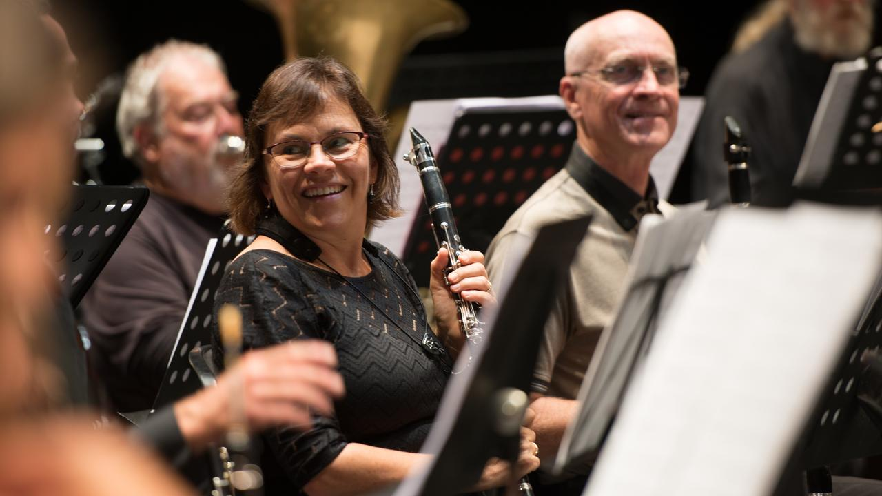 Lismore Symphony Orchestra is formed by 45 musicians from Northern NSW.
