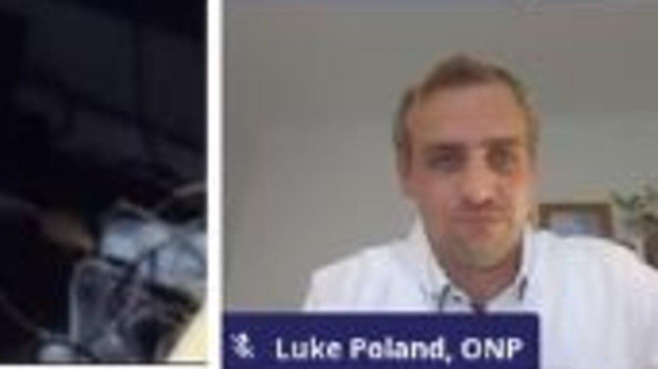 One Nation's Luke Poland.