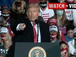 "Trump Pennsylvania rally: ""I will kiss every guy, man and woman"""