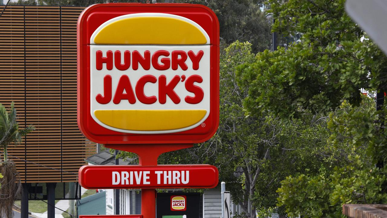 Hungry Jacks says it is entitled to use the Big Jack trademark. Picture: Tertius Pickard/NCA NewsWire