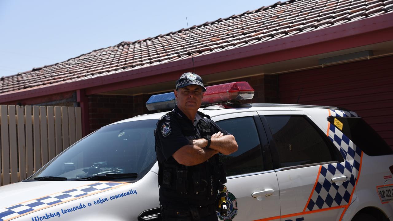 Gayndah Police OIC Sergeant, Don Auld. Photo: Alex Treacy