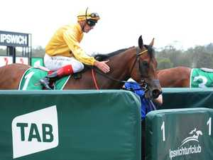 Training double after punters pin-up boy salutes