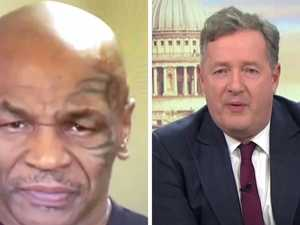 Piers slammed for Mike Tyson train wreck