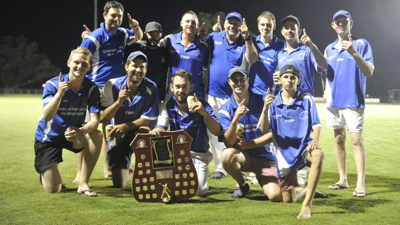 Tucabia-Copmanhurst didn't walk away empty-handed in 2019/20, claiming the Cleaver's Mechanical Twenty20 Night Cricket title with a grand final victory over Brothers Clocktower at McKittrick Park on Friday, March 6, 2020. Photo: Mitchell Keenan / The Daily Examiner