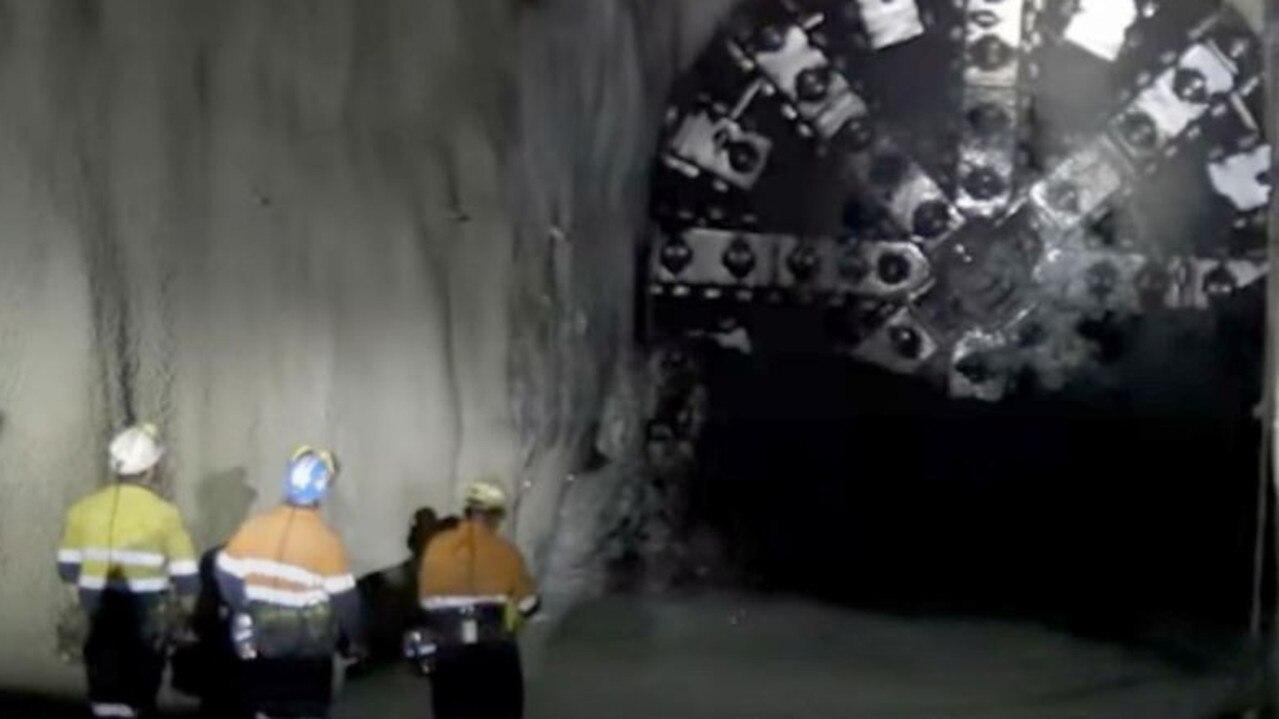 Inside Anglo American's Grosvenor Coal Mine near Moranbah. Picture: Youtube