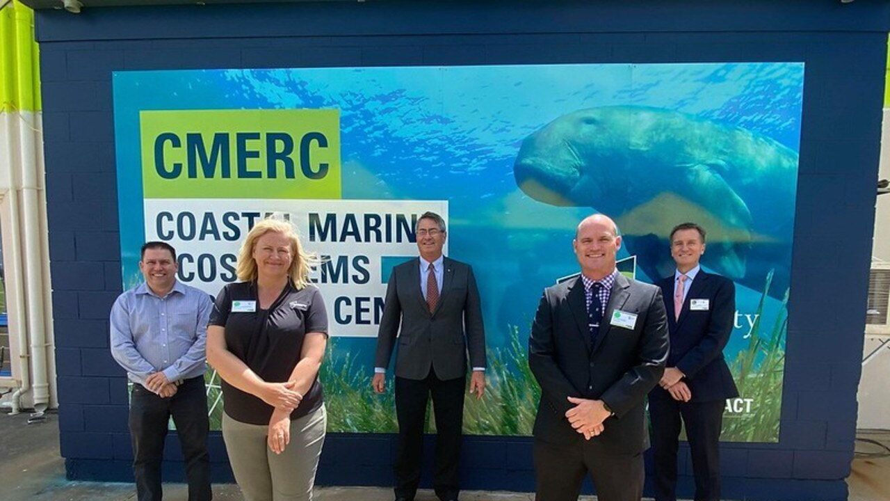 CQUniversity's $6.6 million Coastal Marine Ecosystems Research Centre was officially opened today at the Gladstone Marina Campus.