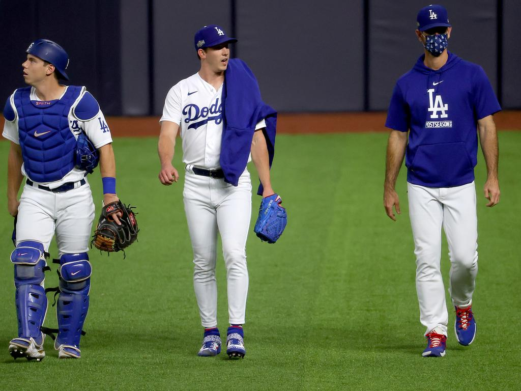 How they compared to his teammates' trousers. (Photo by Tom Pennington/Getty Images)