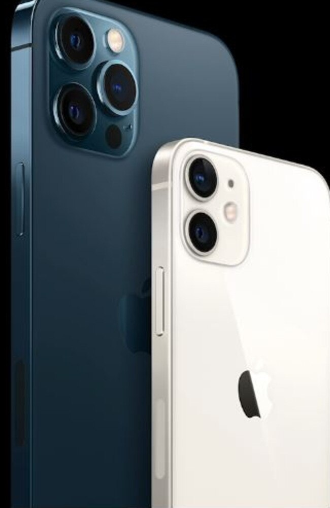 iPhone 12 PRO and mini. Picture: Apple