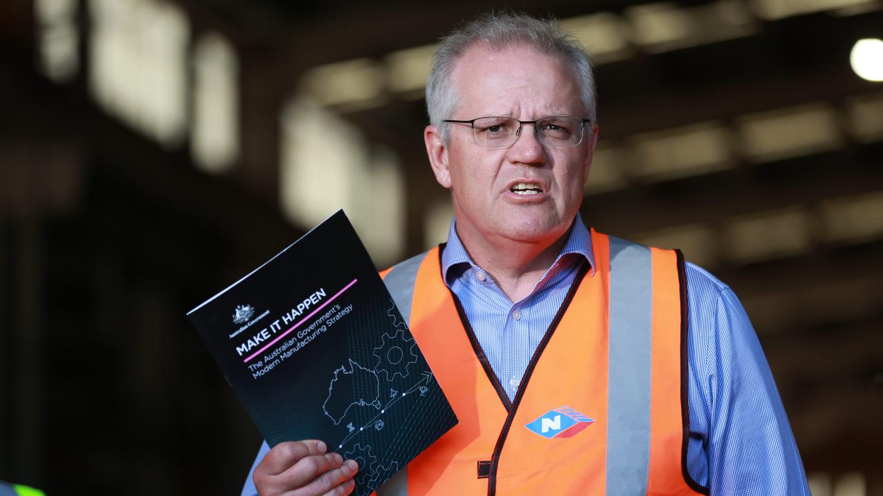 Prime Minister Scott Morrison said the border opening was for Queensland to decide. Picture: NCA NewsWire / Sarah Marshall