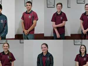 BRIGHT FUTURES: St Mary's most inspiring students
