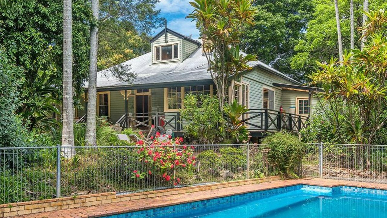 HISTORIC HOUSE: A delightful 1904 farmhouse 'Latuka' at 457 Rosebank Rd, Rosebank, features four bedrooms and its large garden includes a swimming pool.