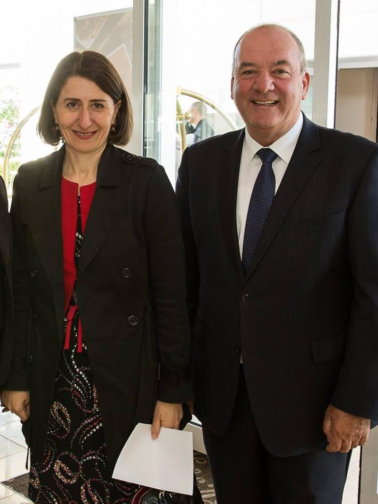Gladys Berejiklian and secret partner Maguire.